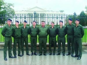 Militares Brasileiros visitam EUA – Bastidores