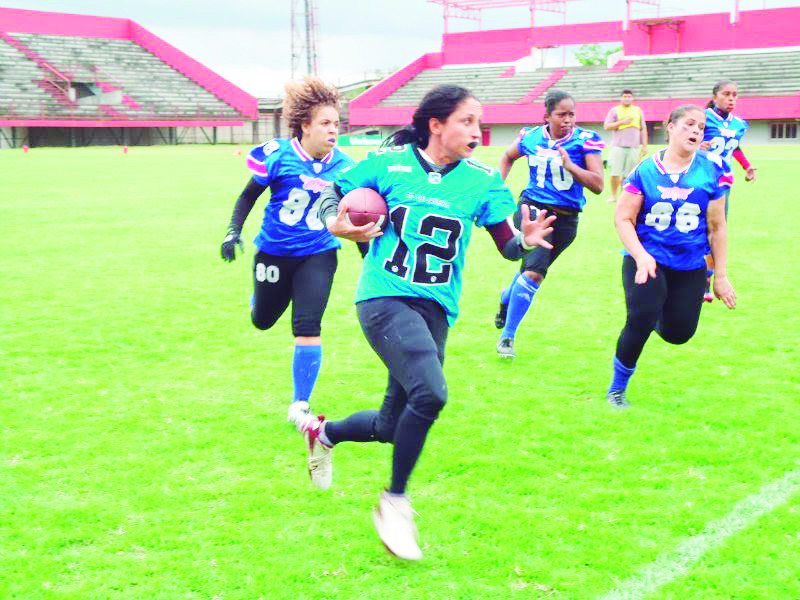 e9f7e6fe06564 Mas outro esporte tem buscado ganhar espaço no Brasil e conquistar o gosto  dos canarinhos  o futebol americano.