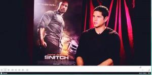 Snitch: Entrevista com o ator JD Pardo – Cinema