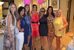 Bridal Shower da real housewife Adriana de Moura