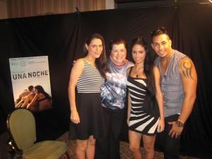 Una Noche – Entrevista com a diretora Lucy Mulloy e os atores Javier Núñez Florián e Anailín de la Rúa – Cinema