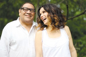 Sammy Figueroa e Glaucia Nasser no Festival Miami – Planeta Música