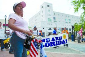 Condados da Flórida não pretendem mudar políticas de imigração