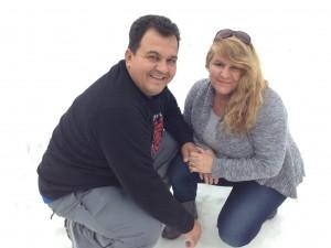 Sandra Baptista e Paulo Brito Jr.