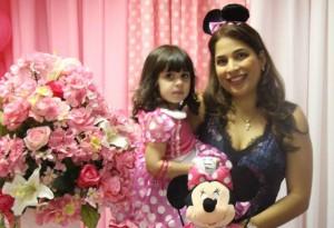 Sophie Viola celebra 3 aninhos