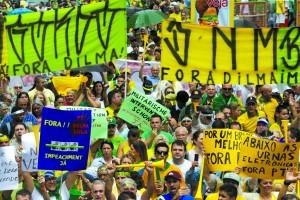 Protestos 15 de março em São Paulo
