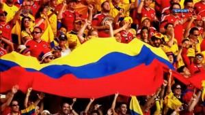 torcida colombiana