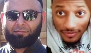 A polícia identificou os autores do ataque como Nadir Soofi (à esqueda) e Elton Simpson, ambos residentes no Arizona e mortos pelos agentes durante o atentado.