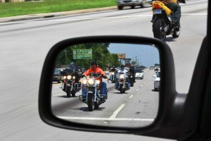 According to Ken Roberts, a certified track day instructor, a driver's eyes are trained to look for other cars, not motorcycles. Therefore, motorcycle riders must be trained in defensive driving techniques.