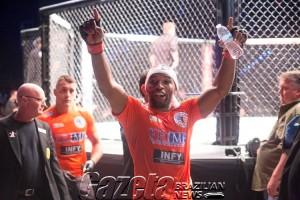 UFC Fight Night agita Hollywood
