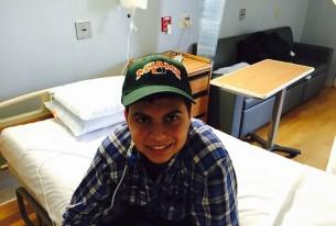 Juninho está se recuperando após transplante de intestino