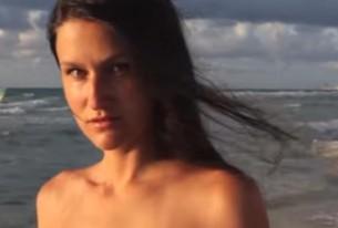 Durante ensaio fotográfico, modelo flagra imigrantes indocumentados chegando a Miami Beach