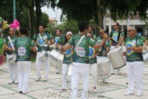Ensaio da Escola de Samba Sambalá
