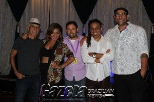 Show do Batuke Samba Funk no Seminole Casino, em Coconut Creek