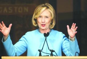 Hillary afirma que quer ser  a porta-voz dos hispânicos