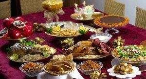 Época de comemorar, agradecer e... comer