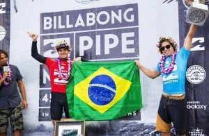 Brasil terá quase um terço dos surfistas na elite mundial em 2016