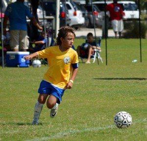 Um apaixonado pelo futebol desde cedo