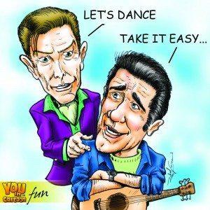 Glenn Frey & David Bowie