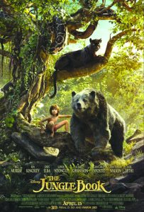 Clithe jungle book poster