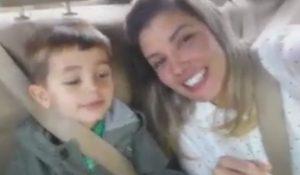 Brasileira finalmente se reúne com filho desaparecido