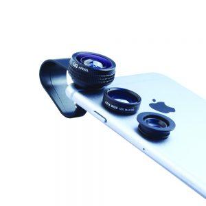 Lentes para celular permitem fotos profissionais