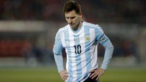 Fifa suspende Messi por quatro jogos pela Argentina