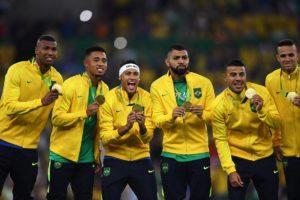 Ouro no futebol garante melhor campanha do Brasil em Olimpíadas