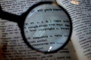 """Português ou inglês: de quem são os """"copirraites""""?"""