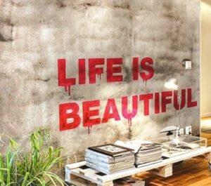 O charme das paredes decoradas