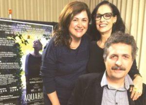 Entrevista com a atriz Sonia Braga e o diretor Kleber Mendonça Filho, de Aquarius