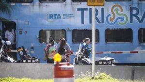 Acidente entre carro e vagão da Tri-Rail em Boca Raton faz vítima fatal