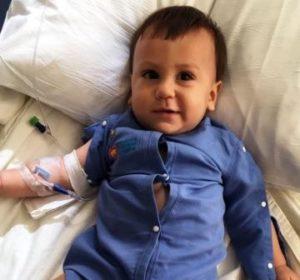 Bebê brasileiro é diagnosticado com leucemia rara em Miami