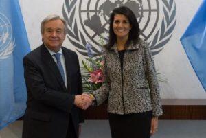 """Nova embaixadora dos EUA na ONU afirma que país vai """"mostrar a sua força"""""""