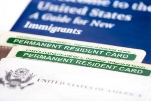 Processo de green card  através de irmão