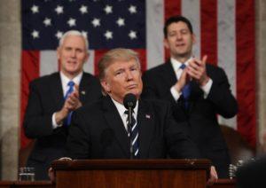 Discurso de Trump teve aprovação de 57% dos americanos