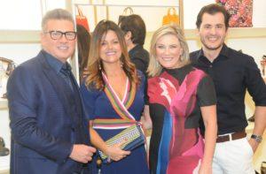 Coquetel marca a inauguração da boutique Jorge Bischoff em Miami