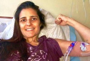 Brasileira com câncer luta para fazer tratamento no México