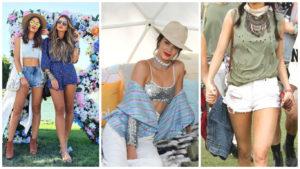 Como usar os looks despojados do Festival de Coachella