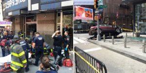 Acidente na Times Square não foi atentado terrorista, diz polícia
