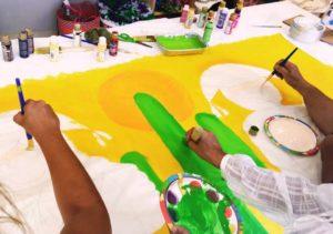 Minority Help promove oficinas de artesanato e churrasco em Pompano