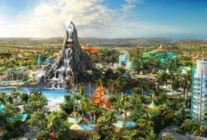 Universal Orlando inaugura Volcano Bay nesta semana