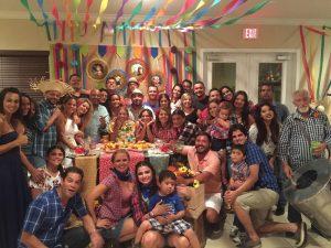 Aniversário de Neylo e Rony da Silva com arraiá