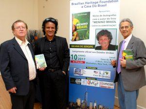Gilvan de Sergipe lança livro em NY