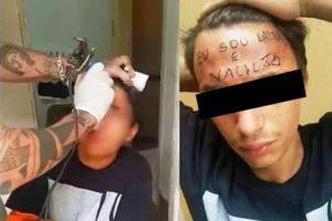 MP exclui crime de tortura em caso de adolescente tatuado na testa
