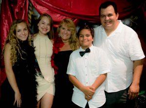 Festa dupla para Claudia e Rafael em Orlando