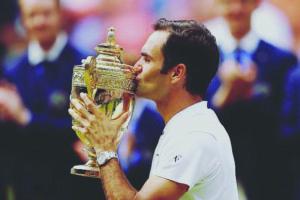 Roger Federer conquista o octacampeonato de Wimbledon