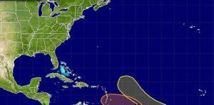 NHC monitora formação de dois ciclones tropicais no Atlântico