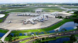Avianca, Azul e TAM entre as companhias afetadas pela reforma do Orlando International Airport