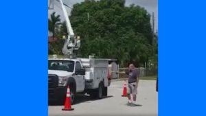 Bombeiro aposentado dispara em caminhões da AT&T em Hialeah